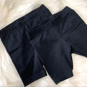CARTERS Black Tumbler Shorts Set of 2